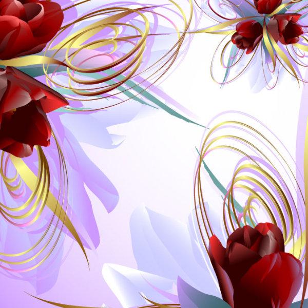 Vector Rose 02-- vector material