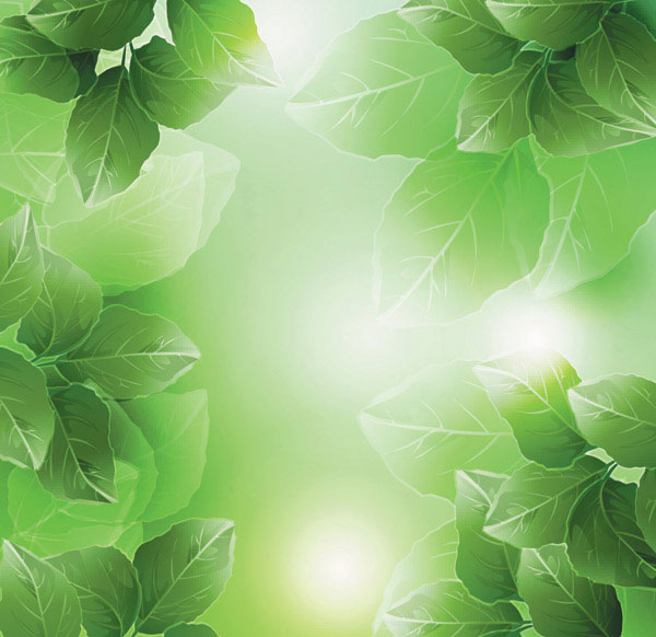 Dream plant vector background material -4