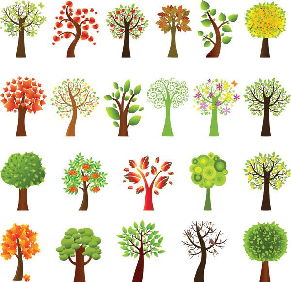 Vektörel Ağaçlar