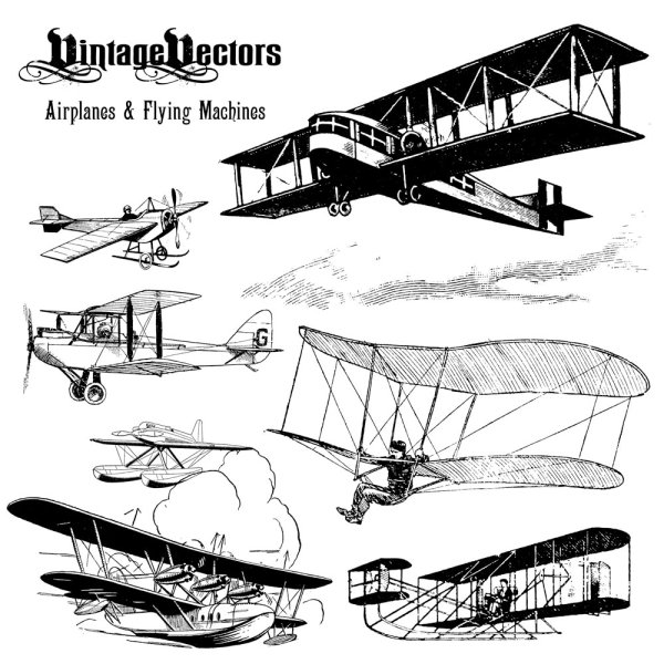 Antique means of transport 03 - vector