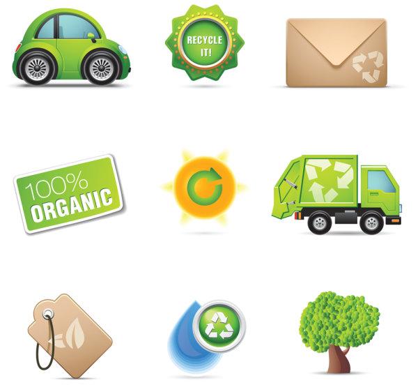 The ornate environmental icon 02 - vector
