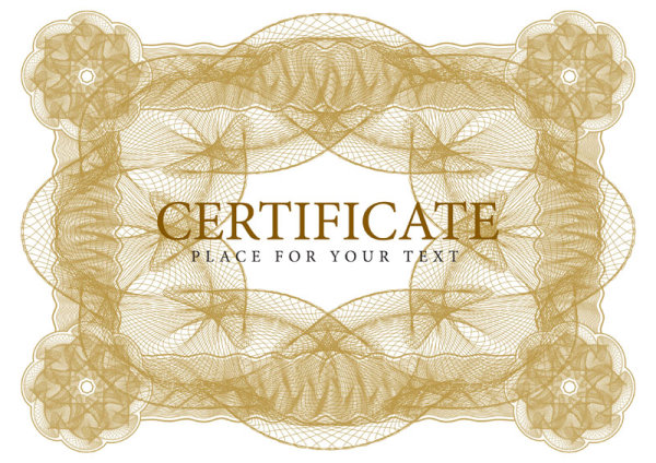 Fine security pattern border 01 - vector