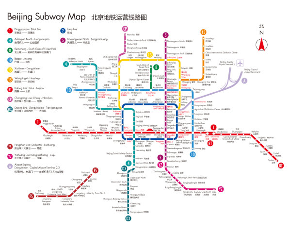 Subway Map In Powerpoint.Beijing Subway Map In Chinese And English Over Millions Vectors