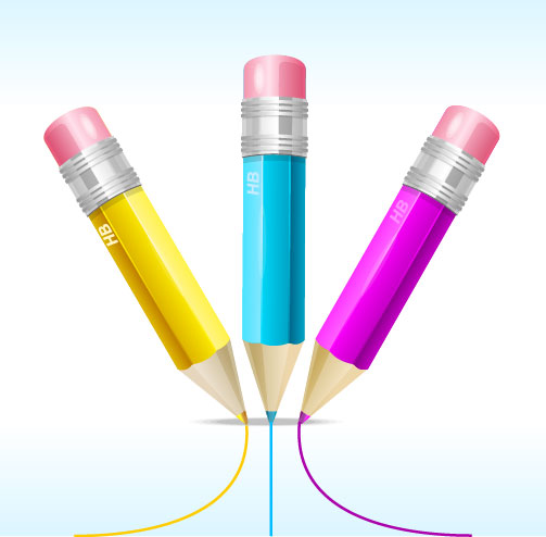 CMYK Colors 10 - vector material