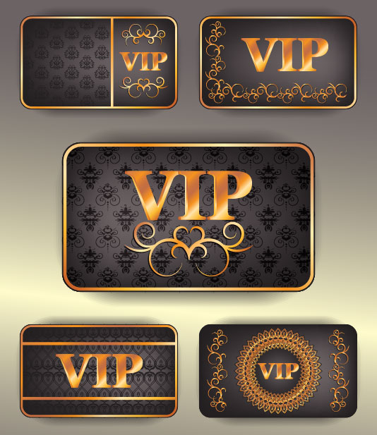 Membership card 01 - vector material