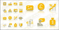 Financial cute icon vecteur mat��riel