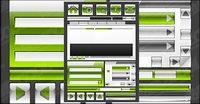 Web Design mat��riel de d��coration en cristal vecteur style icône