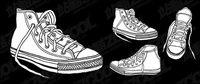 Vector mat��riel de chaussures