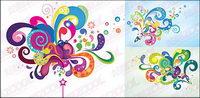 Colorful ��l��ments du vecteur de la tendance