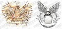 Eagle vecteur mat��riel de conception