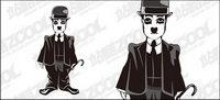 Chaplin vecteur mat��riel