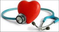 Stethoscope et en forme de coeur Photo du mat��riel