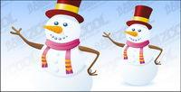 Snowman vecteur mat��riel