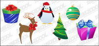 Christmas icon vector material