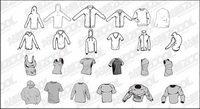 Go Media Produktion Trend Vektor Material Set13-blank Modetrend