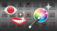 Icon Bildverarbeitung Material