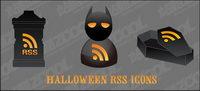 Halloween-Symbol RSS-Vektor-Material