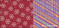 Le contexte Snowflake 2 vecteur mat��riel