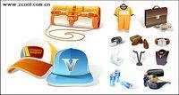 Mode-Symbol Vektor materiellen G��tern