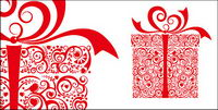 D¨ªa de San Valent¨ªn en forma de coraz¨®n de vectores materiales regalos