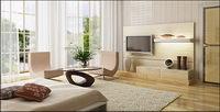 Beautiful home interior Bildmaterial-1