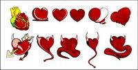 Le coeur du diable Vector mat��riel