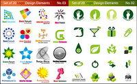 Vektor-Grafik-Logo-Vorlage Material