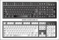 Exquisito teclado vector material