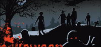 Halloween cimeti��re fantôme vecteur mat��riel
