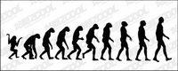 El curso de la evoluci¨®n humana vector material
