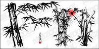 Vector de tinta materiales de bamb¨²