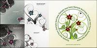 Weitere 5 Vector Mode Blumen Muster Material