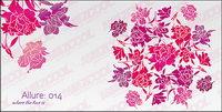 Einfache und schöne Blumen Vektor Material