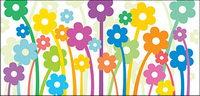 Belle illustration vectorielle mat��riel fleurs