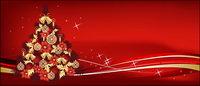 Arbre de Noël th��me vecteur mat��riel