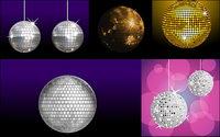 Vari��t�� de mat��riaux vecteur boule disco