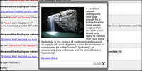 JQuery schwimmende Schicht ��ber die Wirkung der Geldbuße (JS + CSS)2