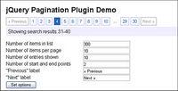 JQuery peut ��tre contrôl�� sur la base du contenu du num��ro de code de pagination (JS + CSS)