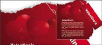 Red vector tarjeta de etiquetar el material
