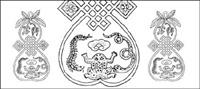 Material de los 18 vectores cl¨¢sicos chinos