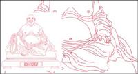 Laughing Buddha Vector mat��riel