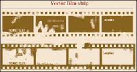 Gesprenkelt alten Film vector