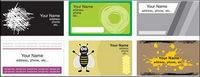 Einige card template Vektor Material