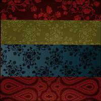 Europäische klassischen Muster Vektor Material