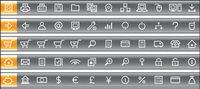 120 Vector Icons simplicit�� pratique