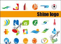 Einige Logo-Grafik Vektor Material