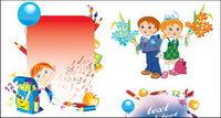 Vector illustration ��cole des enfants