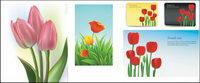 Tulipes vecteur de mat��riel