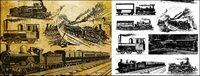 Vector alten europäischen Zug