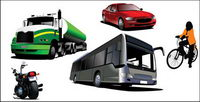 Transporte de material de vectores
